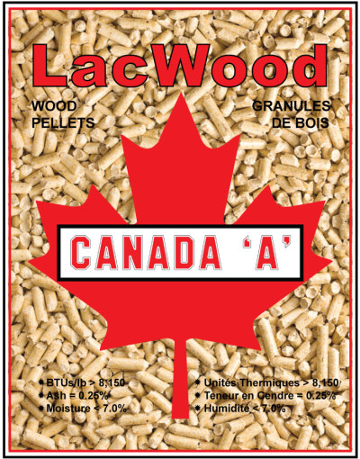 Heating Pellets - LacWood Premium Wood Pellets