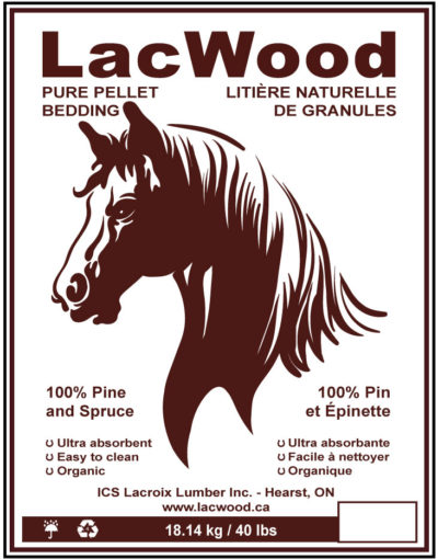 LacWood Horse Bedding Pellets